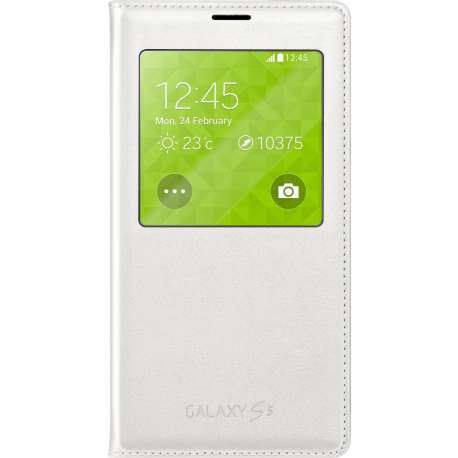 SAMSUNG S VIEW COVER POUR S5 BLANC