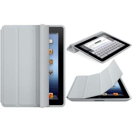 iPad Smart Case - Polyurethane - Light Gray