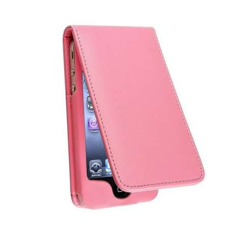 Etui iPhone 4 / 4S en cuir Rose