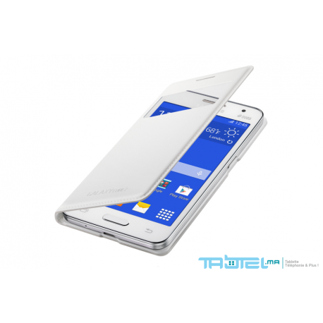 S View Cover de protection pour Samsung Core 2 - Noir