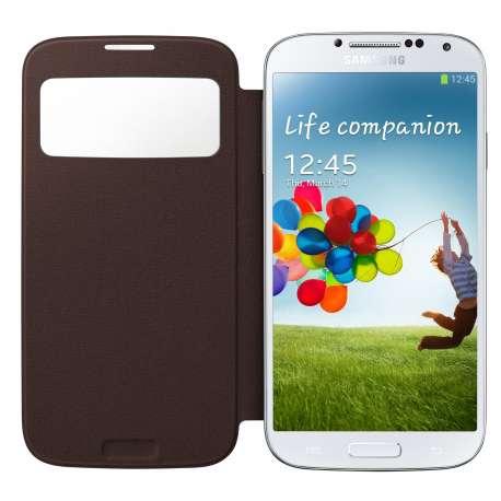 Samsung flip cover view pour S4 BLEU ROYAL