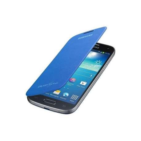 Flip cover S4 Mini Bleu