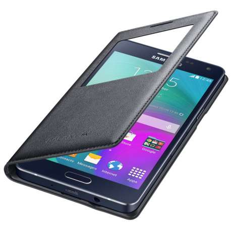 Samsung S view cover pour Galaxy A5 Noir