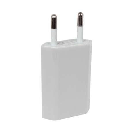 Chargeur Secteur - Universel Port USB - Blanc