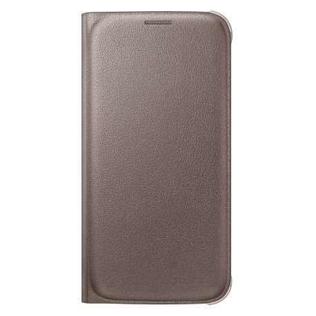 Etui Flip Wallet Blanc pour Galaxy S6