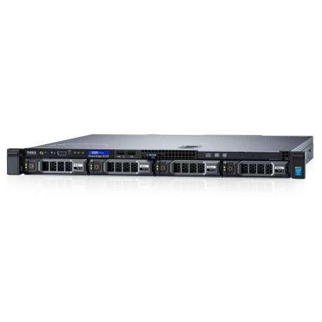 Serveur rack PowerEdge R230, 2x 1TB, 4 GB RAM