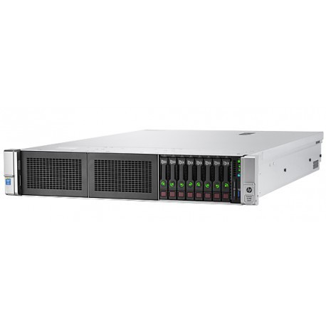 Serveur HPE ProLiant DL380 Gen9 E5-2620v4 1P 16GB-R P440ar 8SFF 500W PS Server/GO