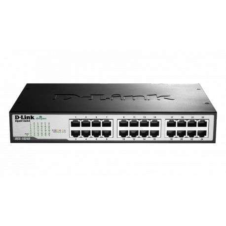 Switch Non Administrable D-Link 24-port 10/100Base-T (DES-1024D/E)