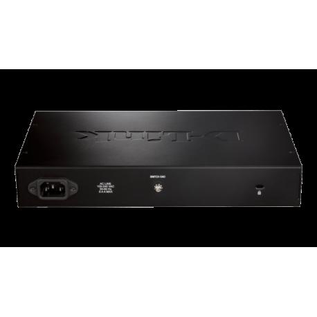 Switch Non Administrable D-LINK 16 ports Gigabit Green Ethernet (DGS-1016D/E)