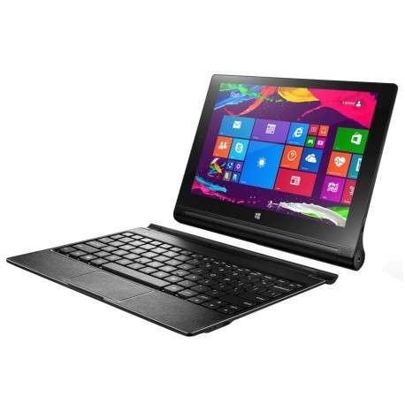 Tablette 4G Lenovo Yoga Tablet 2-1051 avec Windows 8.1 + Office 365 (Clavier inclus)
