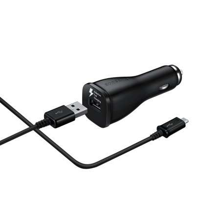 Chargeur Samsung Originale Rapide Foudre 2A NOIR + cable MICRO USB - EP-LN915UBEGWW