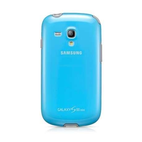 Coque Origine Samsung bleue turquoise Galaxy S3 mini