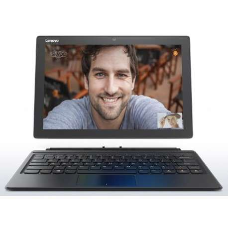 Tablette PC 2-en1 Lenovo Miix 510 Argent (80U100CAFE)