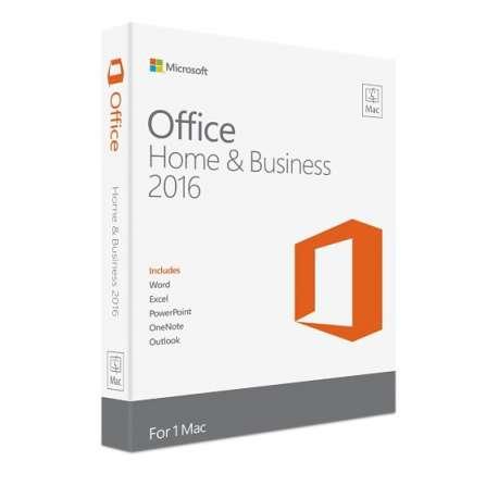 MICROSOFT Office Mac Home Business 1PK 2016 Français Afrique