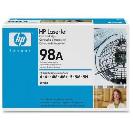 Cartouche d'impression noire HP LaserJet 98A (92298A)