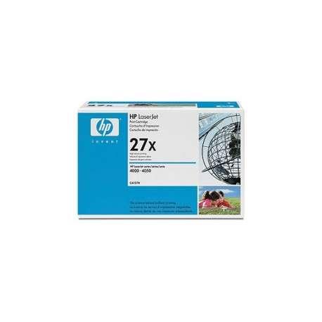 Cartouche d'impression noire HP LaserJet 27X (C4127X)