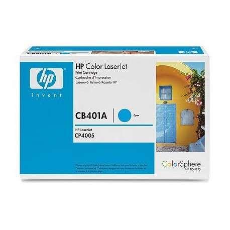 Toner d'impression cyan HP Color LaserJet CB401A (CB401A)