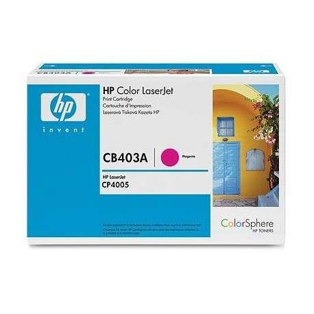Toner d'impression magenta pour HP Color LaserJet CB403A (CB403A)
