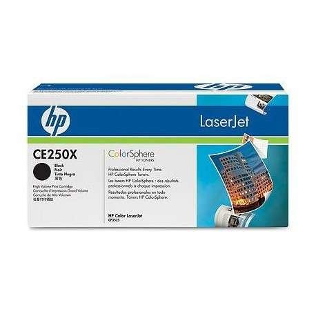 Toner Cartouche d'impression noire HP Color LaserJet CE250X (CE250X)