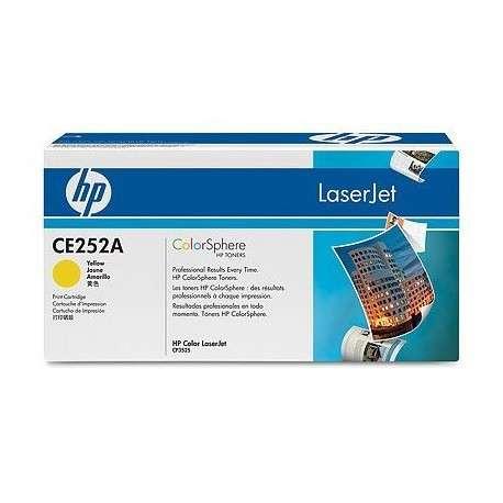 Toner Cartouche d'impression jaune HP Color LaserJet CE252A (CE252A)