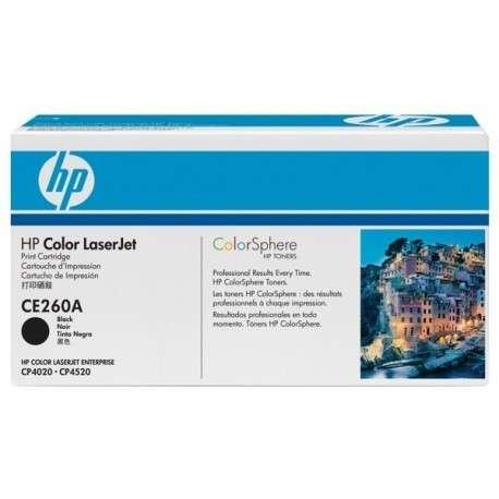 Toner Cartouche de toner noir HP LaserJet 647A (CE260A)