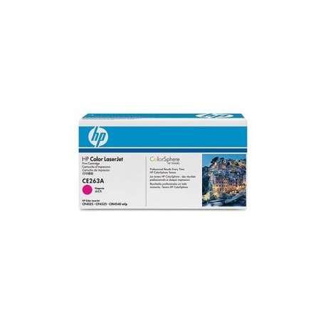 Cartouche de toner magenta HP LaserJet 648A (CE263A)