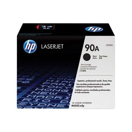 Cartouche Toner d'encre noire HP LaserJet 90A (CE390A)