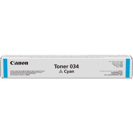 CANON034Cyan Toner