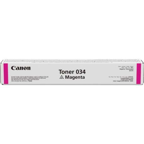 CANON034 Magenta Toner