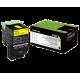 Lexmark Standard Yellow Return Programme Toner Cartridge
