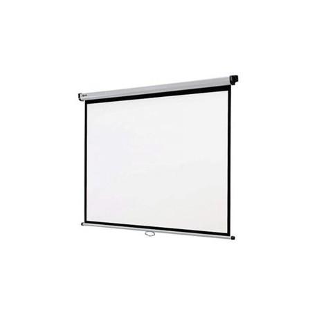 ECRAN DE PROJECTION Oray 2000 PRO -Ecran mural manuel/Blanc mat/Format carré/200 x 200/8 Kgs