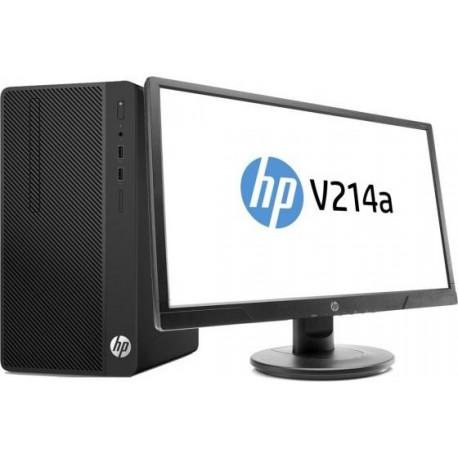 PC COMPLET HP 290G1 MT i5-7500 4GB 500GB FreeDos+ Ecran 20,7