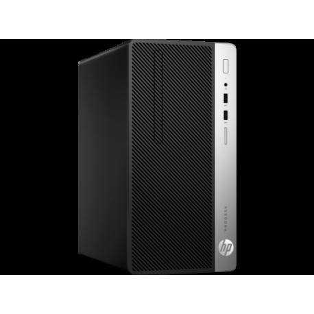 PC BUREAU COMPLET HP 400G4 MT i3-7100 4GB 500GB FreeDos+Ecran 20,7
