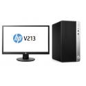 PC COMPLET HP 400G4 MT i5-7500 4GB 500GB W10p64 + Ecran 20,7
