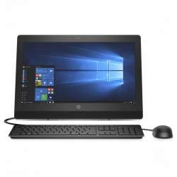 HP ProOne 400 G3 AiO Intel Core i3-7100T (3.4 GHz, 3 MB cache, 2 cores) - 4GB , 500-GB Serial ATA, FreeDos