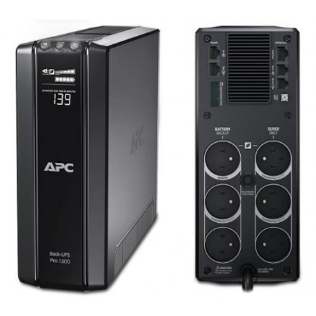 Onduleur  LineInteractif, APC Back-UPS Pro 1200VA, LCD, 230V