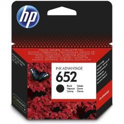 Cartouche d'encre Advantage HP 652 noire authentique