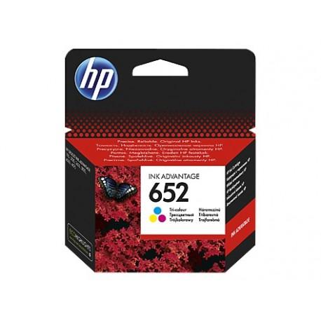 CARTOUCHE COULEURS INK ADVANTAGE HP 652