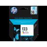 HP 123 cartouche d'encre trois couleurs