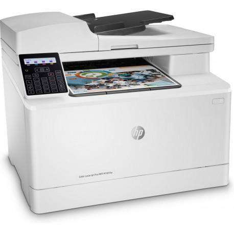IMPRIMANTE MULTIFONCTION HP Color LaserJet Pro MFP M180n Couleur MFP 3en1A4 Réseau WIFI PPM B&W 16 PPM Col 16