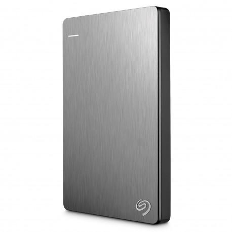 """disque dur Lacie Seagate Backup Plus 1 To - 2.5"""" -Externe USB 3.0 - Argenté"""