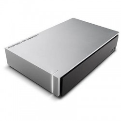 Disque dur LaCie Porsche USB 3.0 Light Grey 8TB / USB 3.0