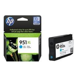 Cartouche d'encre Officejet cyan HP 951XL