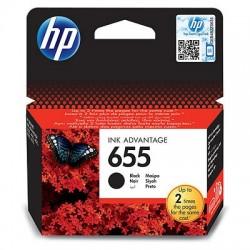 Cartouche d'encre noire HP 655