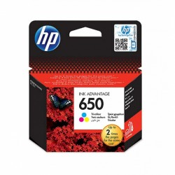 Cartouche d'encre trois couleurs HP 650