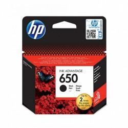 Cartouche d'encre noire HP 650
