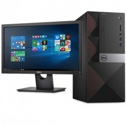 PC BUREAU DELL Vostro Desktop 3667 + Monitor E1916HV