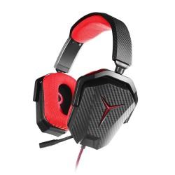 Casque Lenovo Y Gaming Stereo Headset+Canaux de sortie audio: Stereo+Type de casque: Binaural+Bandeau