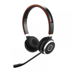 Micro-casque sans fil Bluetooth stéréo Jabra Evolve 65 MS