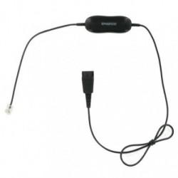 Cordon intelligent universel Jabra GN1200CC pour les téléphones fixes